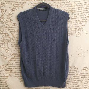 Men's Nautica Cable Knit Sweater Vest